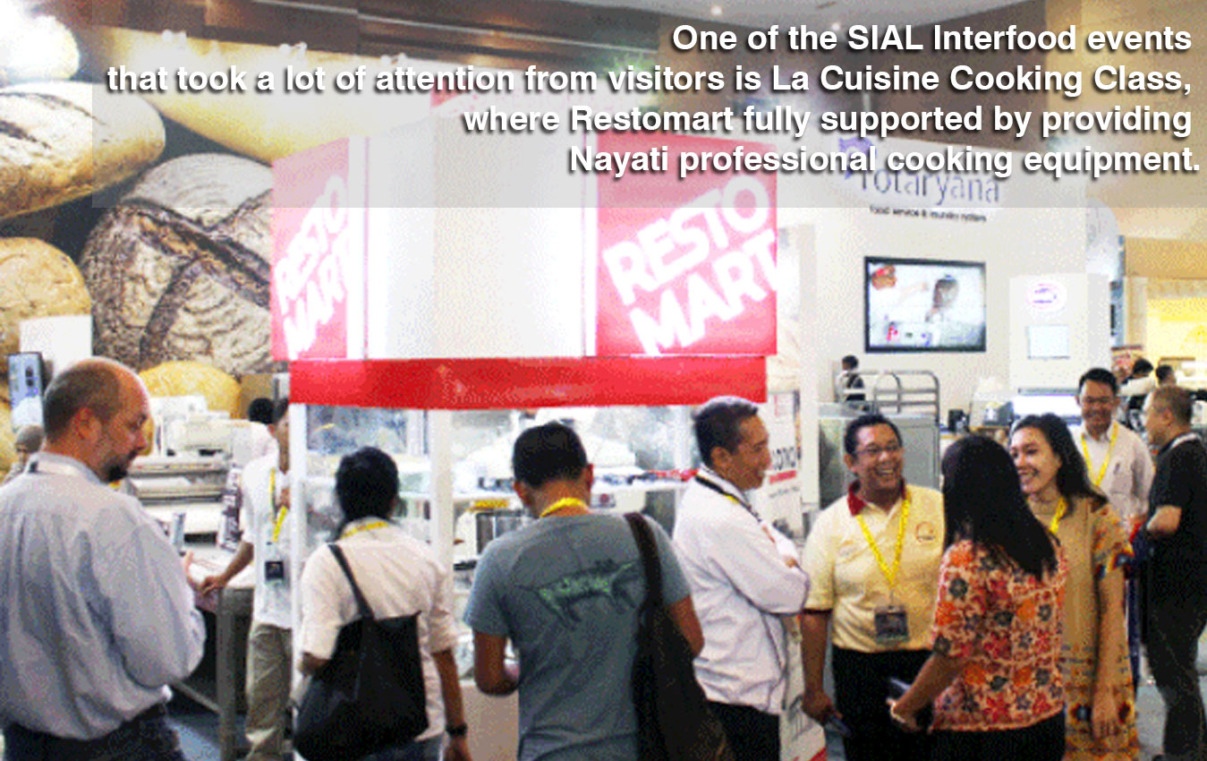 Nayati – BAKOMATIC: BAKING SOLUTION PRODUCT ON SIAL