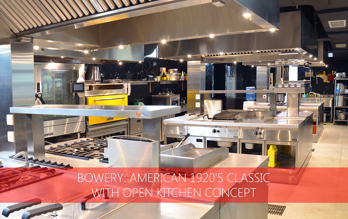 Restaurant Open Kitchen Concept In Bowery American 1920u0027s Classic With Open Kitchen Concept Nayati u2013