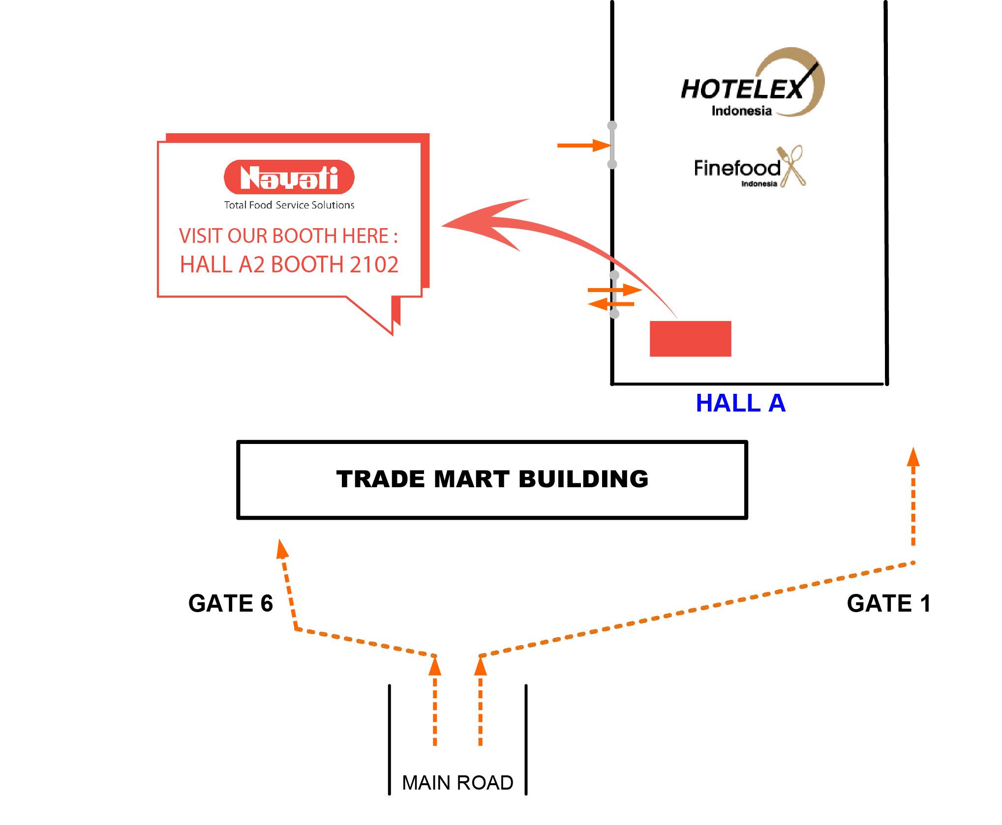 JIExpo Halls AD HOTELEX Indonesia 2018